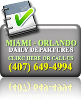 Book Online Daily Departures